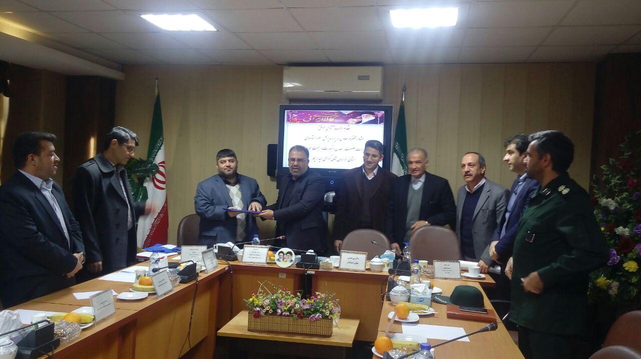 پژمان قربانی سرپرست سازمان صنعت،معدن و تجارت استان خراسان شمالی شد.