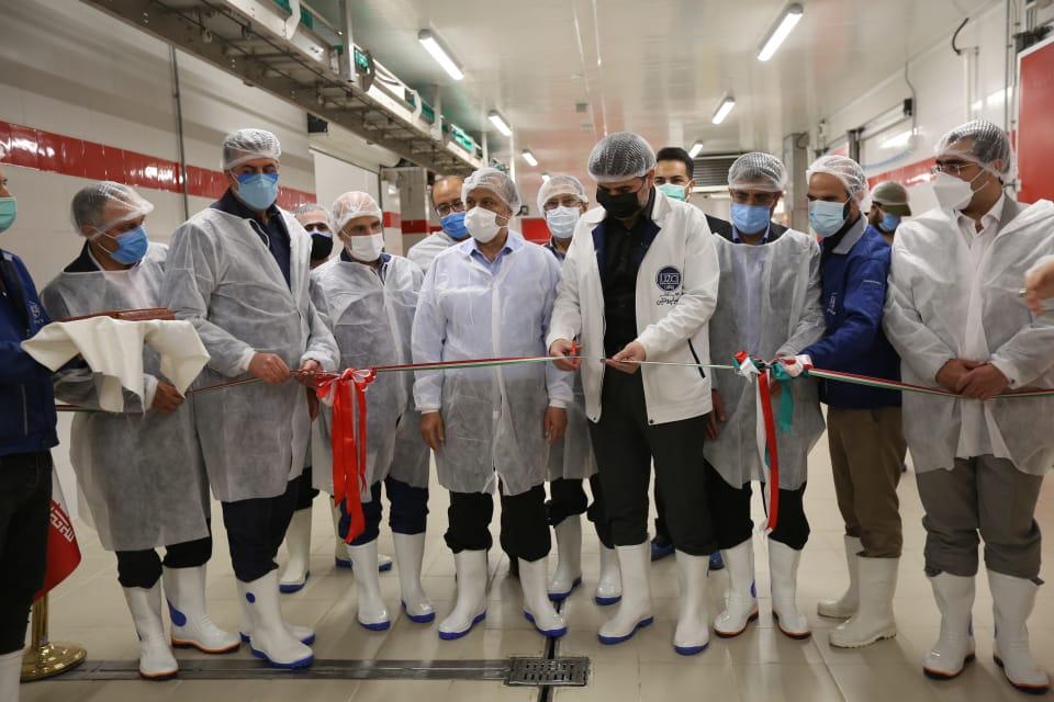 افتتاح خطوط توسعه کارخانه مهیا پروتئین در شهرک صنعتی خوارزمی/ ایجاد اشتغال مستقیم برای یک هزار و ۴۰۰ نفر در صنایع گوشت و پروتئین